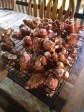 Galangal all dug up, washed and now on drying racks...we will NEVER use this amount, so will have to find homes for it.